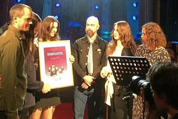 JOSEFIN ÖHRN + THE LIBERATION won The Manifest Award
